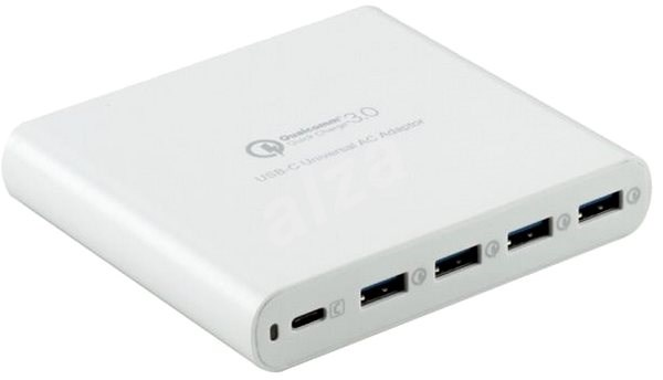 HyperJuice 80W USB-C - bílý - Napájecí adaptér