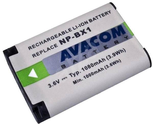 AVACOM za Sony NP-BX1 Li-ion 3.6V 1080mAh 3.9Wh  - Baterie pro fotoaparát