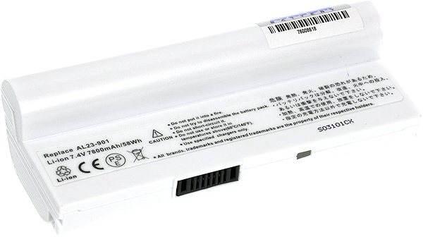 AVACOM za Asus EEE 901/ 904/ 1000 series AL23-901 Li-ion 7.4V 7800mAh/ 58Wh white - Baterie pro notebook