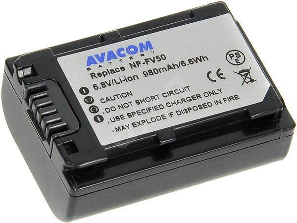 AVACOM za Sony NP-FV30, NP-FV50 Li-ion 6.8V 980mAh 6Wh - Nabíjecí baterie