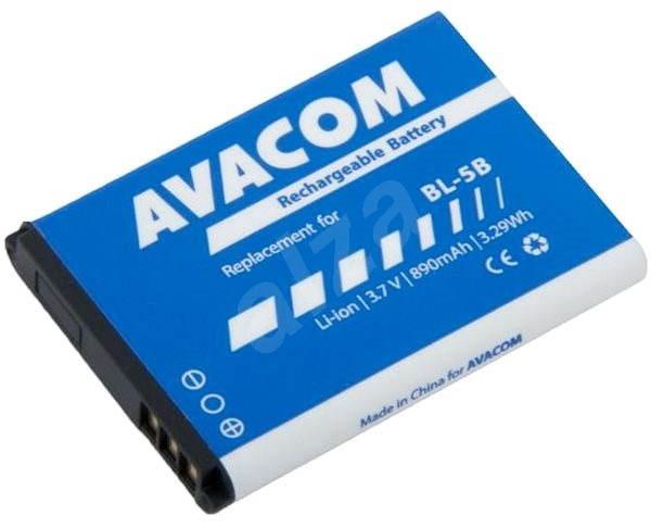 AVACOM pro Nokia 3220, 6070, Li-Ion 3.7V 890mAh (náhrada BL-5B) - Baterie pro notebook