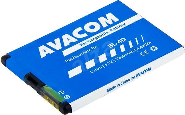 AVACOM pro Nokia N8, E7 Li-ion 3,7V 1200mAh (náhrada za BL-4D) - Baterie pro notebook