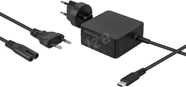 AVACOM USB Type-C 45W Power Delivery - Univerzální napájecí adaptér