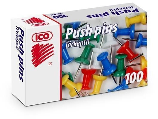 ICO - barevný mix - Připínáčky