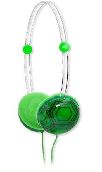 iFrogz Kids - želva - Sluchátka pro děti