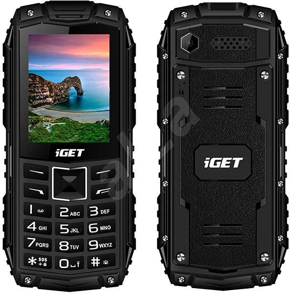 iGET Defender D10 černá - Mobilní telefon