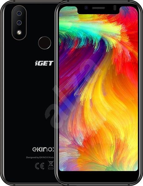 iGET Ekinox E8 černá - Mobilní telefon