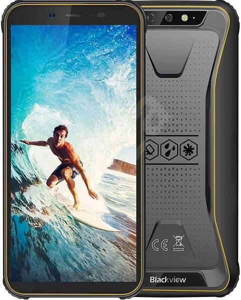 Blackview GBV5500 žlutá - Mobilní telefon