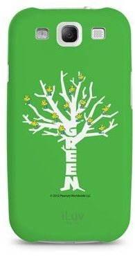 iLuv Snoopy Green series - Green Tree - Pouzdro na mobil
