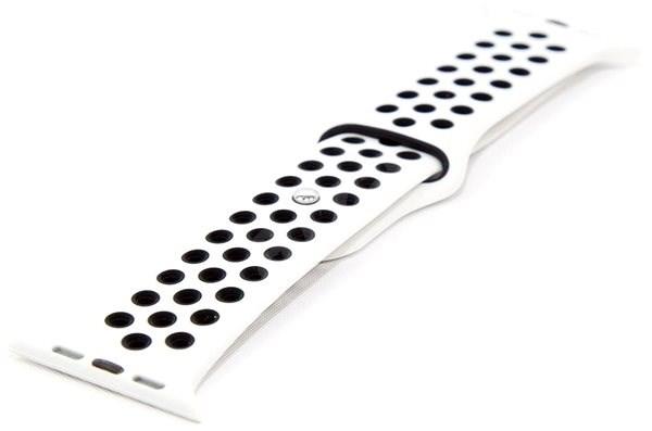 IMMAX pro hodinky SW10, SW13, bílo-černý - Řemínek