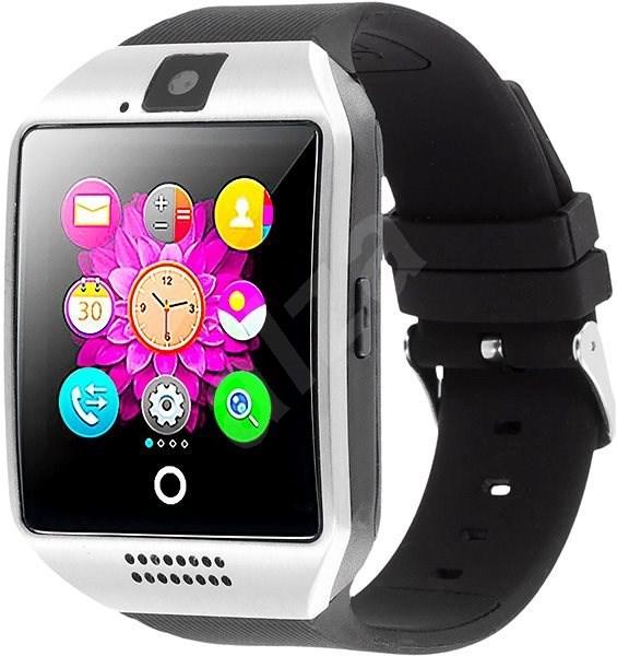 IMMAX SW7 stříbrné - Chytré hodinky