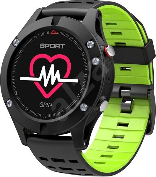 IMMAX SW8 černo-zelené - Chytré hodinky  f419565553a