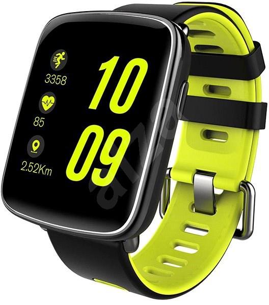 IMMAX SW9 černo-zelené - Chytré hodinky