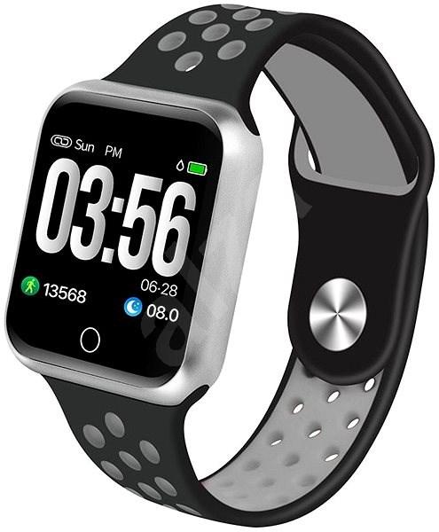 f86717fcc50 IMMAX SW10 černo-stříbrné - Chytré hodinky