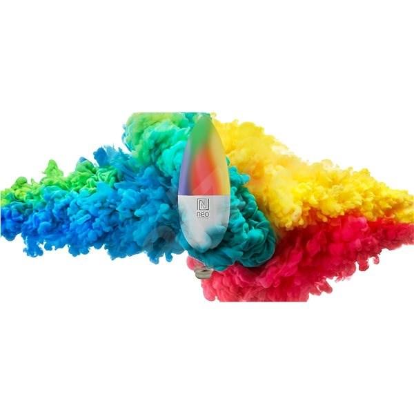 Immax Neo E14 5W barevná + teplá bílá, stmívatelná, Zigbee 3.0 - LED žárovka