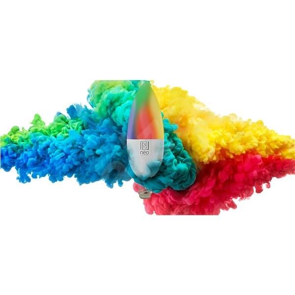Immax Neo 2x E14 5W barevná, stmívatelná, Zigbee 3.0 + Ovladač - LED žárovka