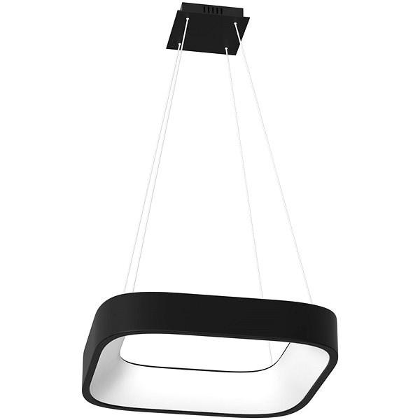 Immax NEO TOPAJA 07035L Smart 60cm 47W černé - Stropní světlo