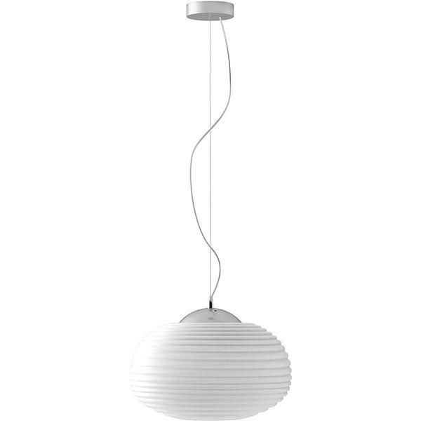 Immax NEO COCONO 07067L Smart 34x22cm bílé sklo - Stropní světlo