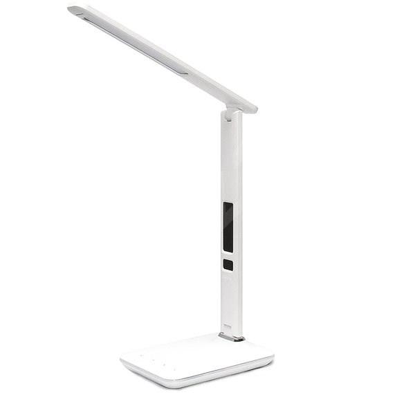Immax stolní lampička LED Kingfisher bílá - Stolní lampa