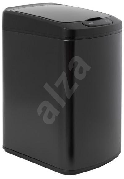iQ-Tech Quadrat 15 l, černý - Odpadkový koš