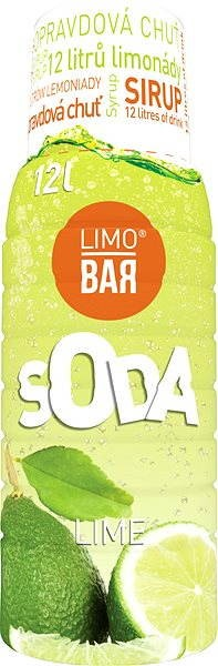 LIMO BAR Limetka - Příchuť