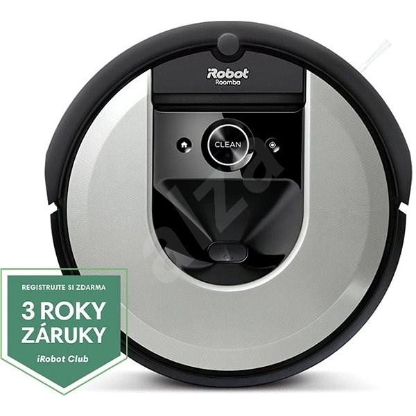 iRobot Roomba i7 silver - Robotický vysavač