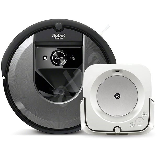 Set iRobot Roomba i7 a iRobot Braava m6 - Robotický vysavač