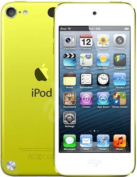 iPod Touch 5th 32GB Yellow - MP3 přehrávač