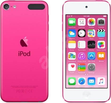 iPod Touch 16GB Pink 2015 - MP3 přehrávač