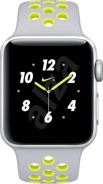 Apple Watch Series 2 Nike+ 38mm Stříbrný hliník s matně stříbrným   Volt  sportovním řemínkem Nike. PRODEJ SKONČIL. Chytré hodinky ... 295e48aea1