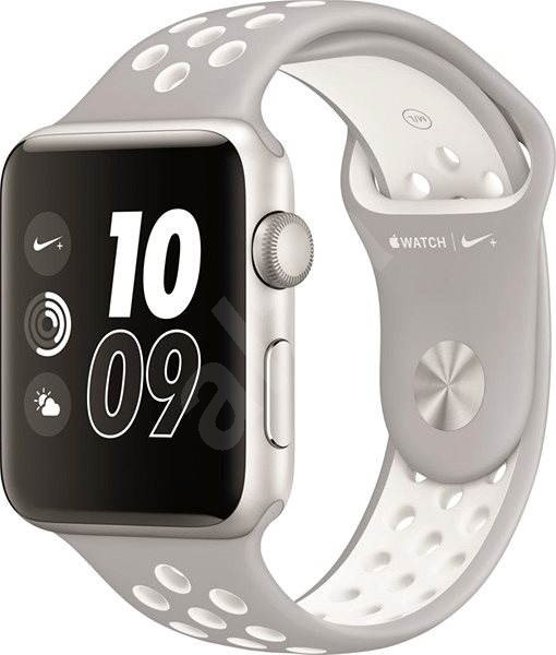 Apple Watch Series 2 Nike+ 38mm Stříbrný hliník s platinově bílým  sportovním řemínkem Nike - Chytré 4102737f82