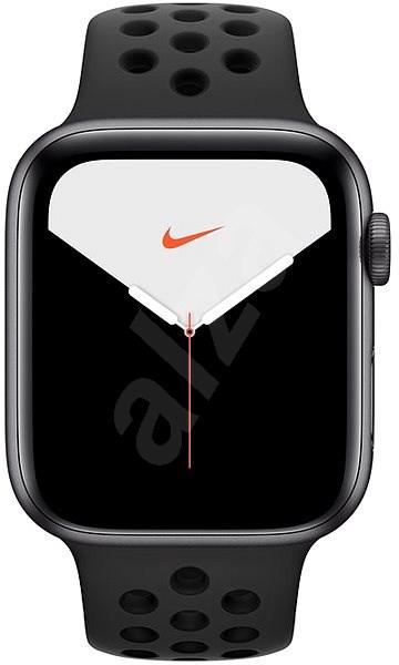 Apple Watch Nike Series 5 44mm Vesmírně šedý hliník s antracitovým/černým sportovním řemínkem Nike - Chytré hodinky