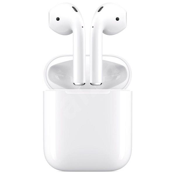 Apple AirPods 2019 s bezdrátovým nabíjecím pouzdrem - Sluchátka s mikrofonem