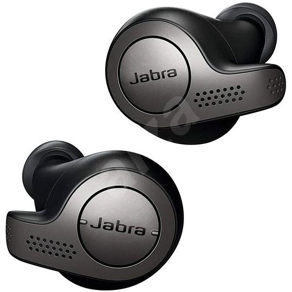 Jabra Elite 65t titanově černá - Bezdrátová sluchátka