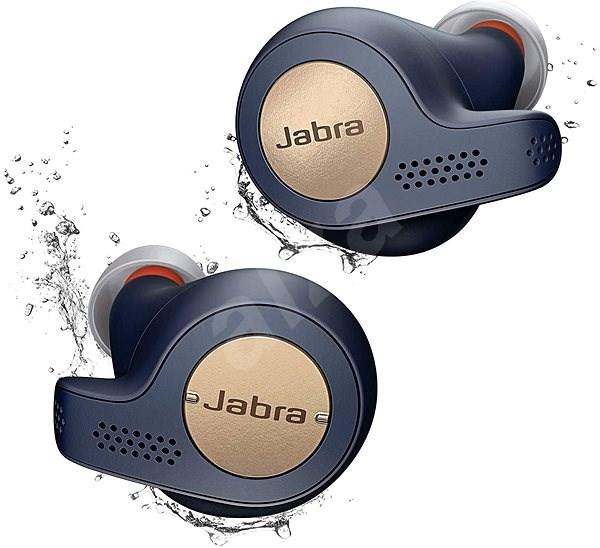 Jabra Elite 65t Active měděná modrá - Bezdrátová sluchátka