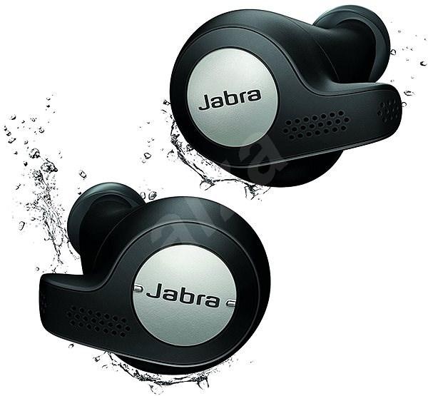 Jabra Elite 65t Active černá - Sluchátka s mikrofonem