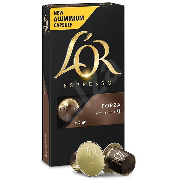 L'OR Espresso Forza 10ks hliníkových kapslí - Kávové kapsle