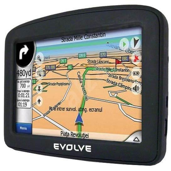 GPS modul EVOLVE CoolTraxx - GPS navigace