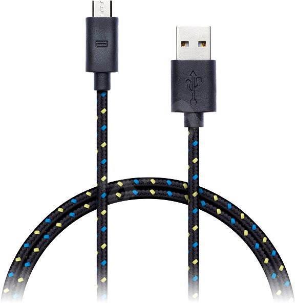 f00f8c183 CONNECT IT Wirez Premium Micro USB 1m černý - Datový kabel | Alza.cz