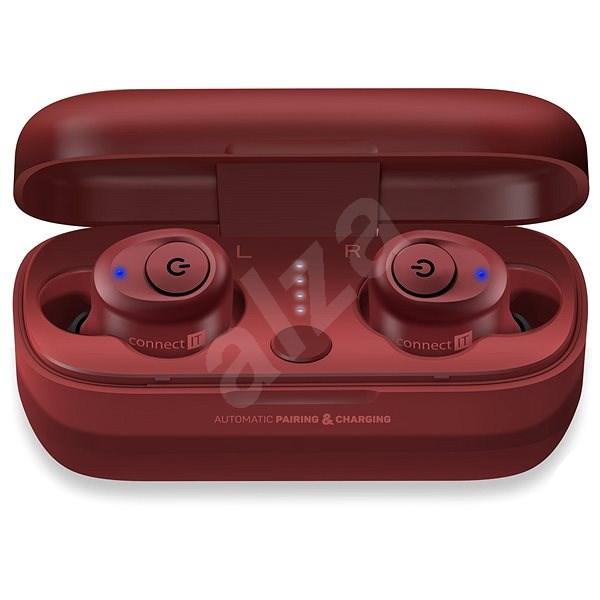 CONNECT IT True Wireless HYPER-BASS Ed. 2 Red - Bezdrátová sluchátka