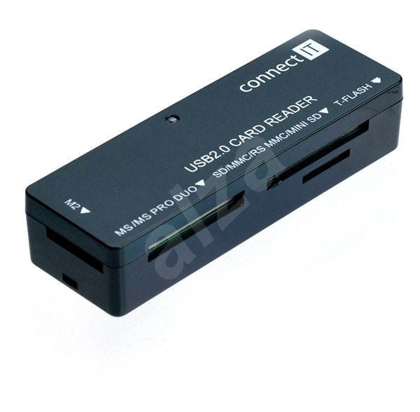 CONNECT IT CI-56 UltraSlim Reader V2 - Čtečka karet