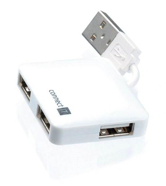 CONNECT IT CI-52 bílý - USB Hub