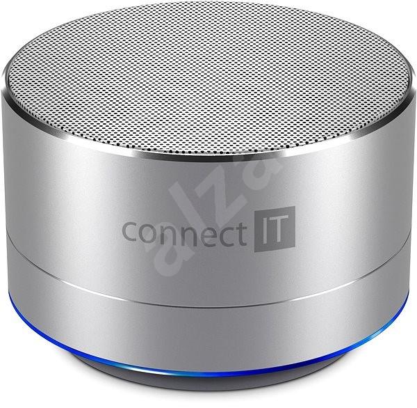 CONNECT IT Boom Box BS500SL Silver - Bluetooth reproduktor