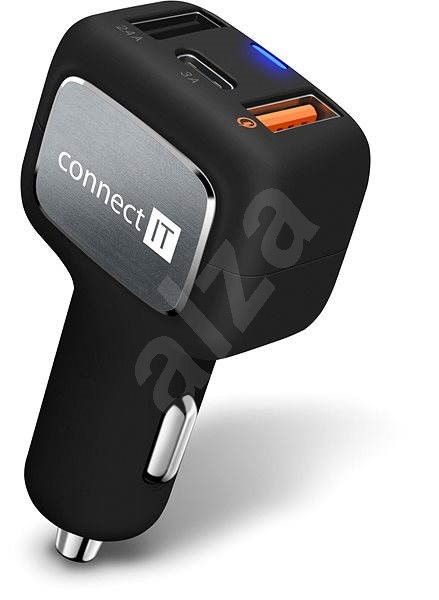CONNECT IT InCarz QUICK CHARGE 3.0 - Nabíječka do auta