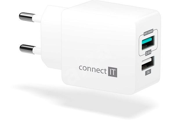 CONNECT IT Fast Charge CWC-2015-WH bílá - Nabíječka