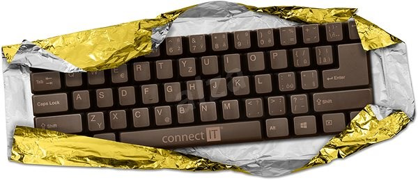 CONNECT IT Chocolate keyboard - Klávesnice