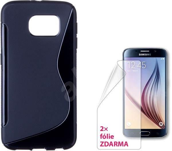CONNECT IT S-Cover Samsung Galaxy S6 černé - Pouzdro na mobilní telefon