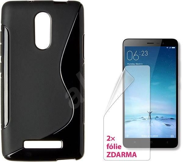 CONNECT IT S-Cover Xiaomi Redmi Note 3 černé - Kryt na mobil