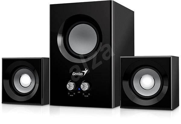 Genius SW-2.1 375 černé - Reproduktory