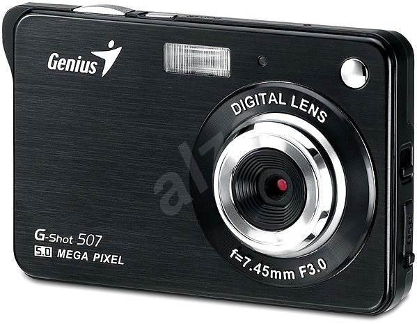 Genius G-Shot 507 černý - Digitální fotoaparát